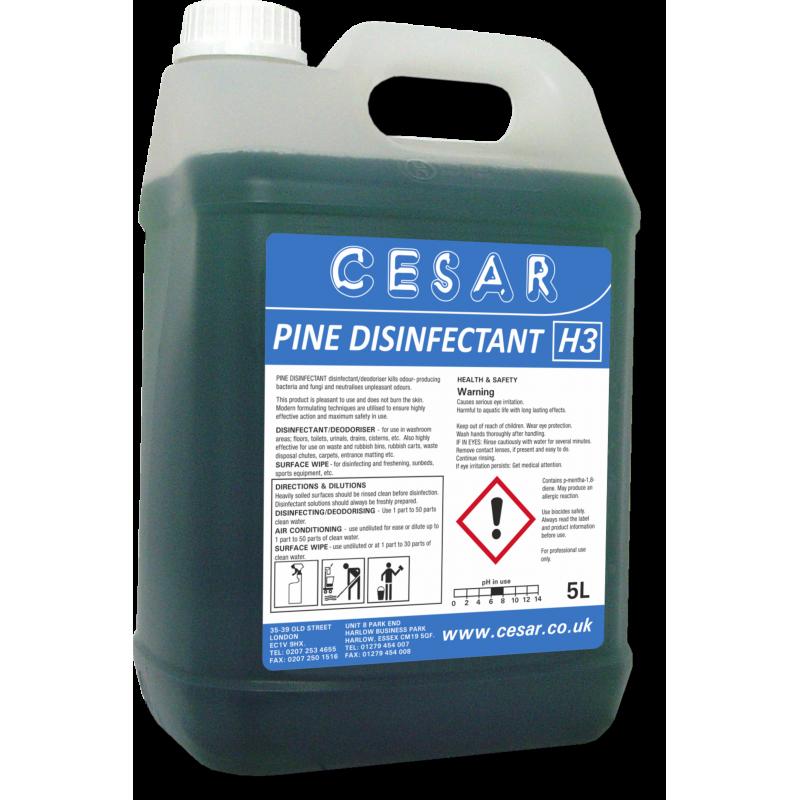CESAR PINE DISINFECTANT H3 5LT