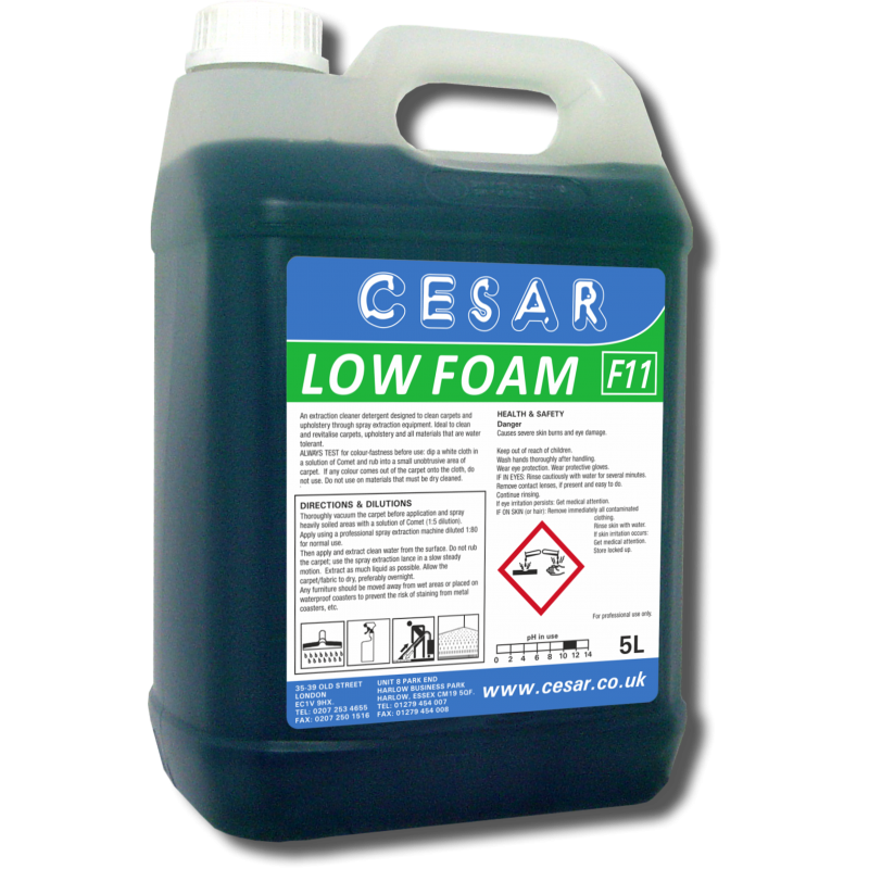 CESAR LOW FOAM SHAMPOO F11 5LT
