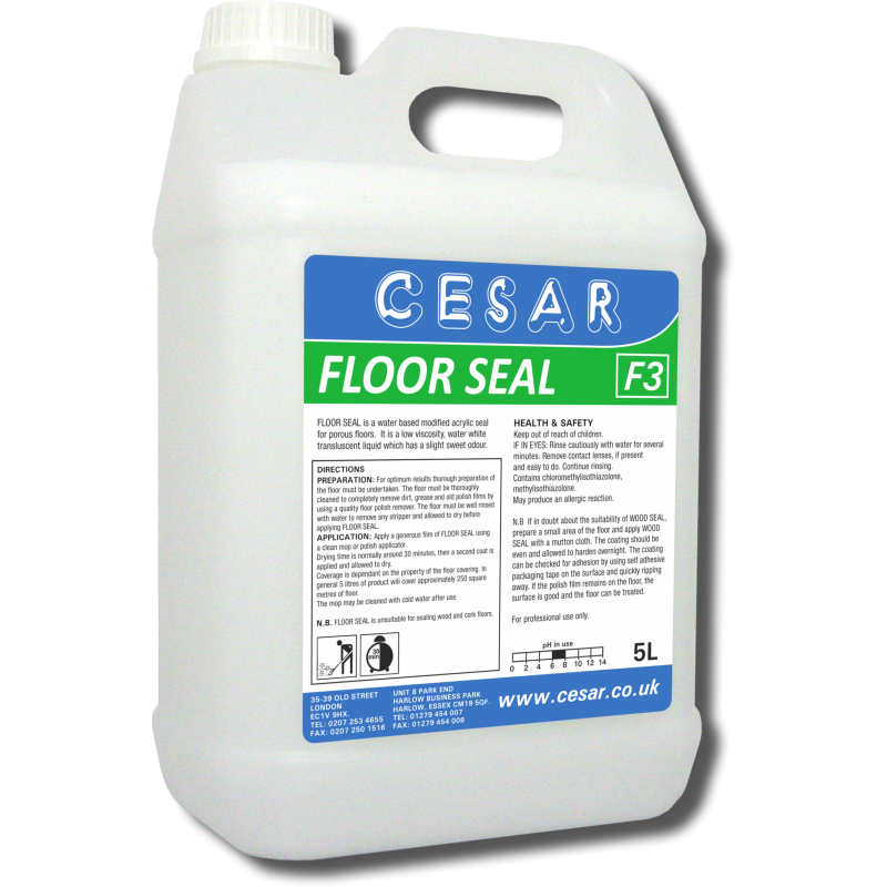 CESAR FLOOR SEAL F3 5LT