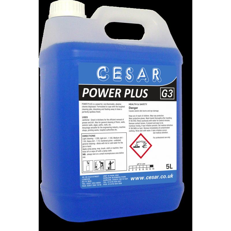 CESAR POWERPLUS DEGREASER G3 5LT
