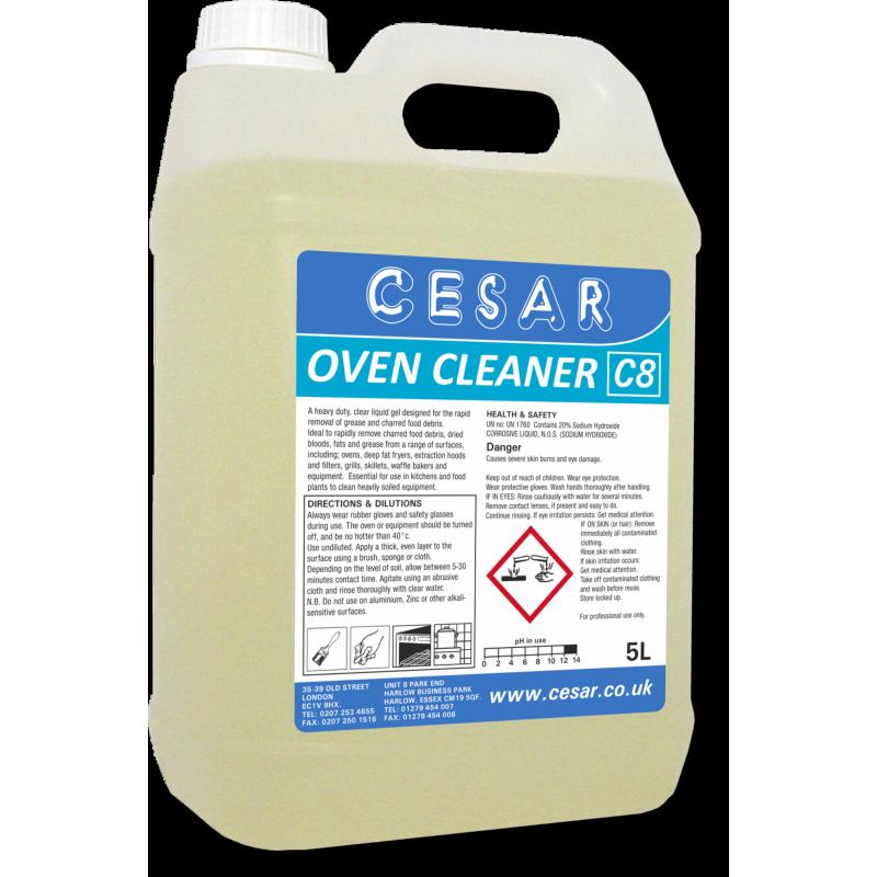 CESAR OVEN CLEANER C8 5LT