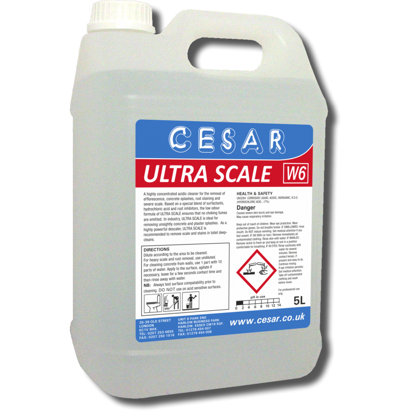 CESAR ULTRA SCALE DESCALER W6 5LT