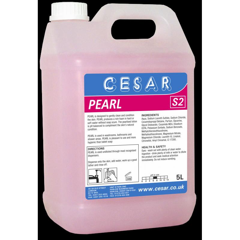 CESAR PEARL PINK SOAP S2 5LT