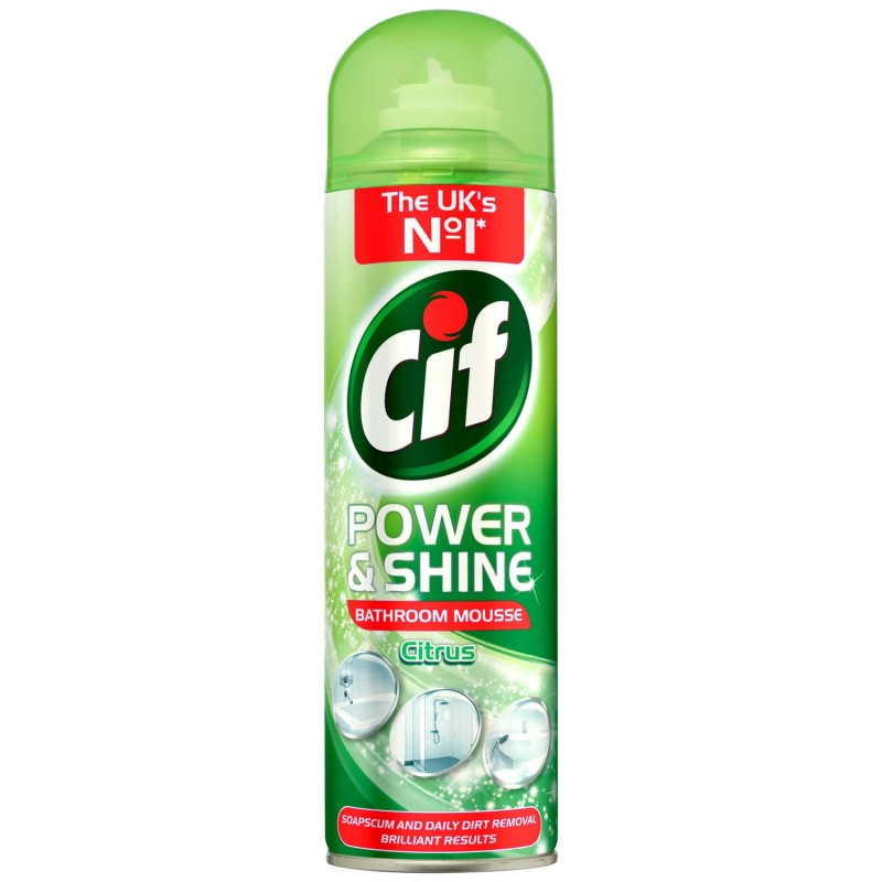 CIF BATHROOM MOUSSE 500ML