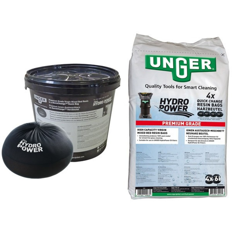 HYDROPOWER RESIN QUICK CHANGE 4 BAGS BUCKET 24L