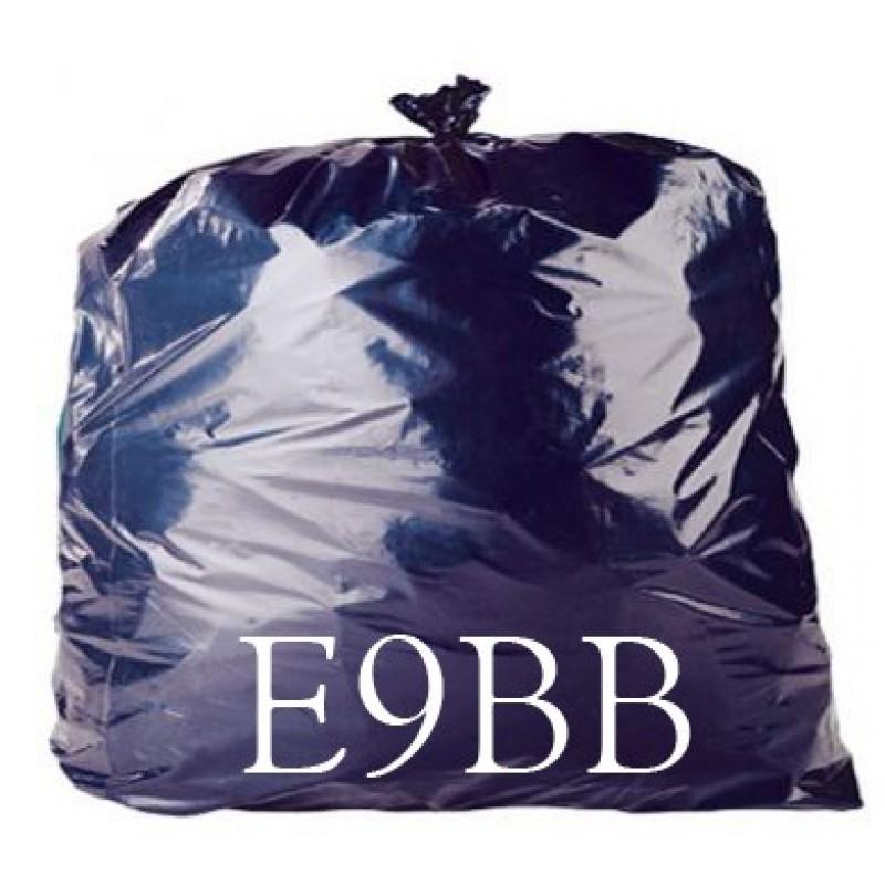 LINERS BLACK BAG 90G ECONOMY 18x29x39 X200 E9BB