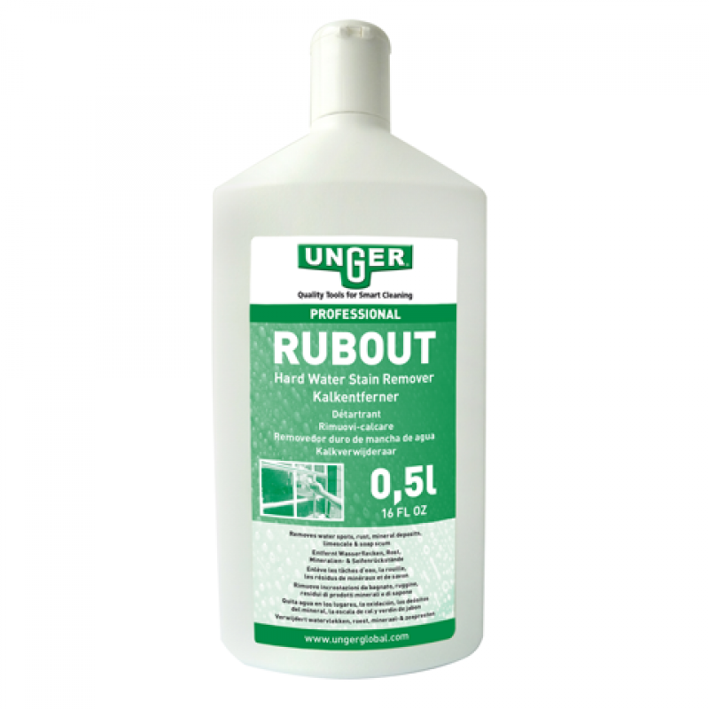 UNGER RUB OUT GLASS CLEANER 500ML