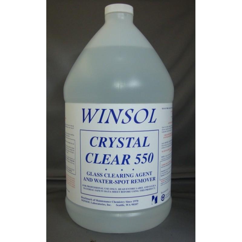 CRYSTAL CLEAR 550 1LT WINSOL