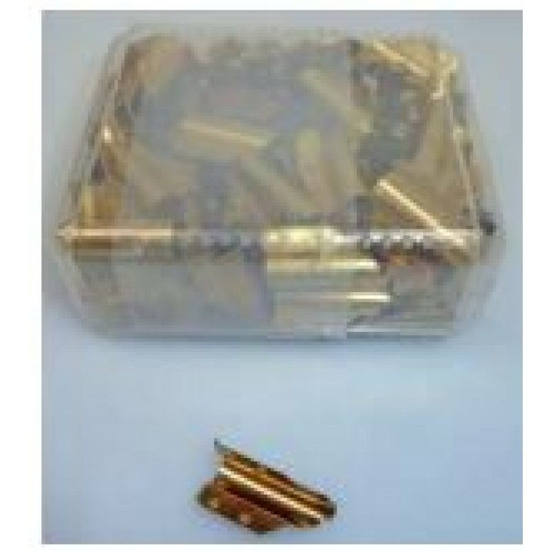 BRASS CLIPS SQUEEGEES X100 MCLIP