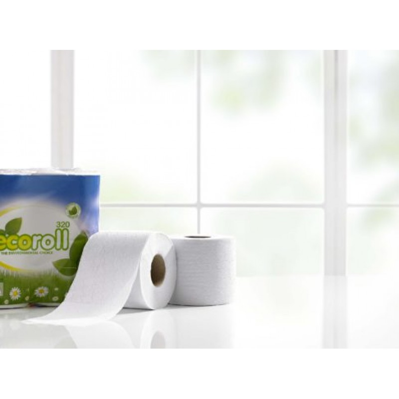 TOILET ROLL ECO 320 RECYCLED X36
