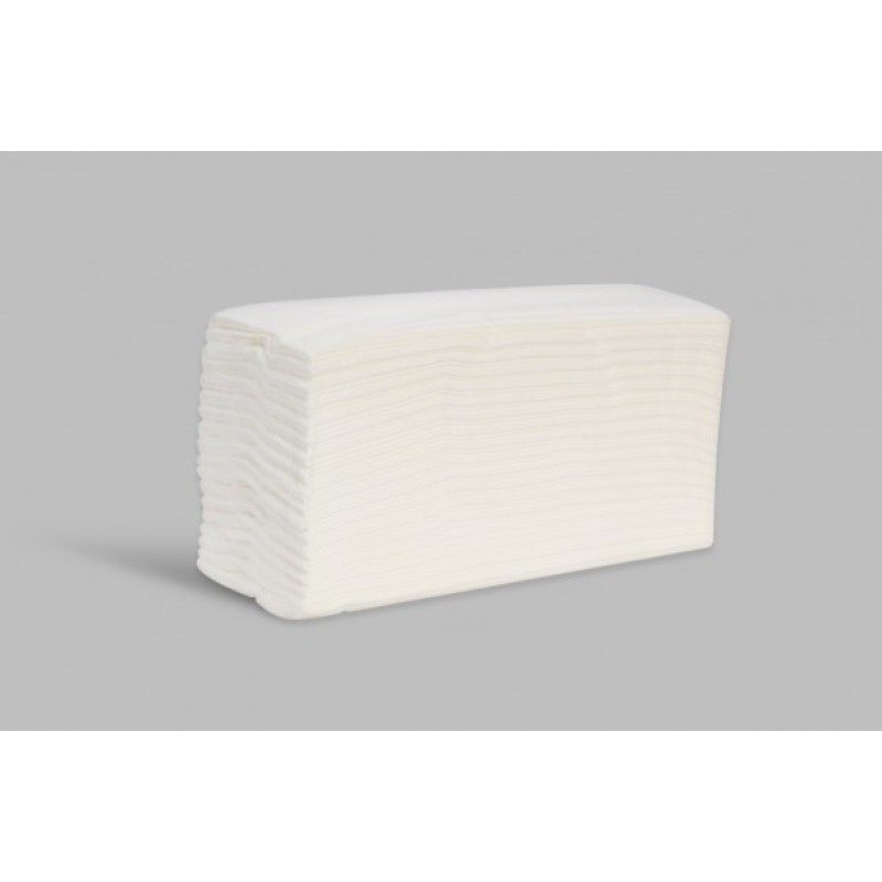 C FOLD LUXURY WHITE 2 PLY X2400 ESFINA CFW002