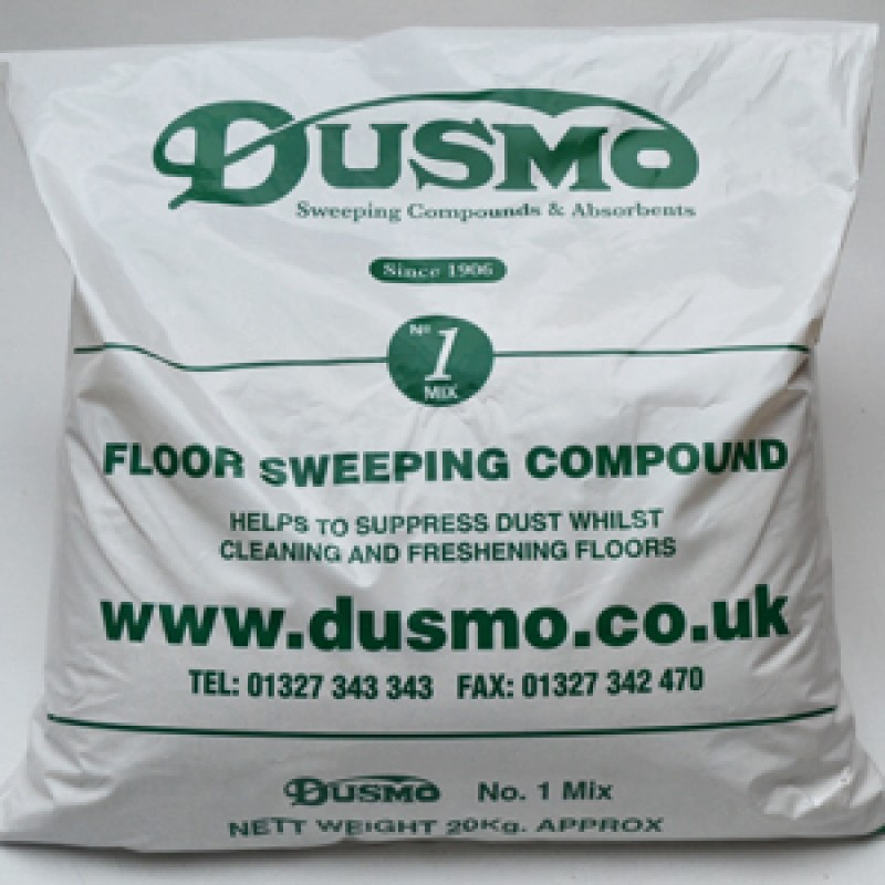DUSMO BLUE SWEEPING COMPOUND