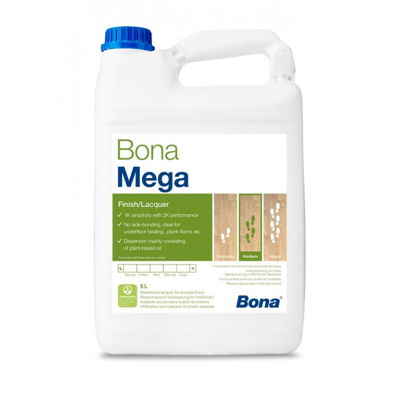BONA MEGA VARNISH 5LT EXTRA MATT