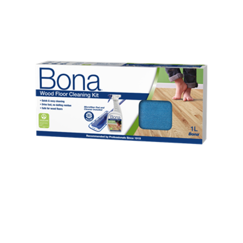 BONA WOOD FLOOR CLEANER KIT