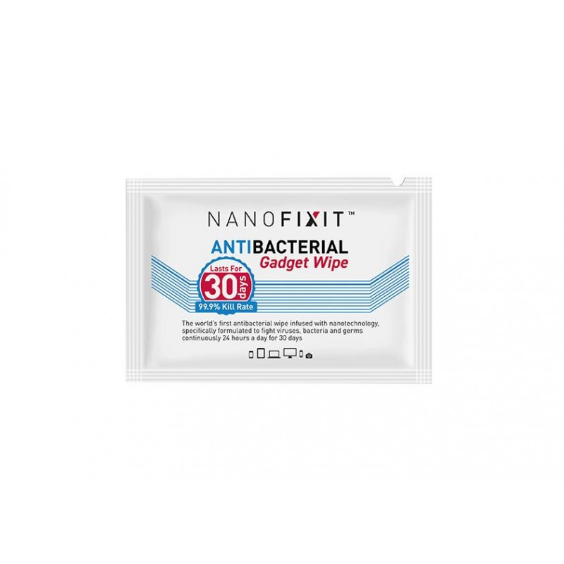 NANOFIXIT ANTIBACTERIAL GADGET WIPE X100