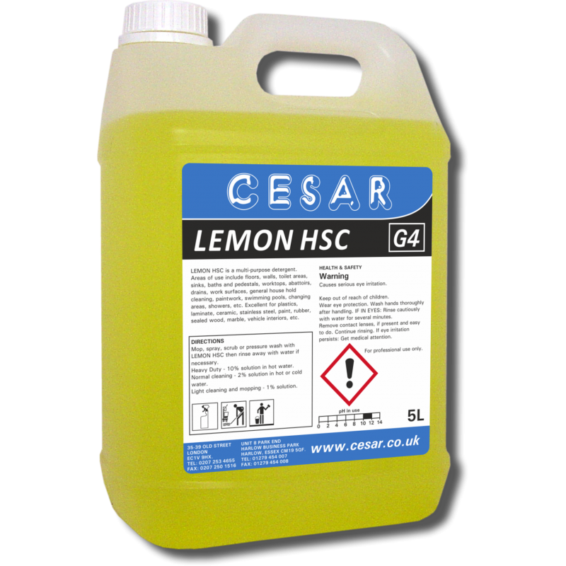 CESAR LEMON HARD SURFACE G4 5LT