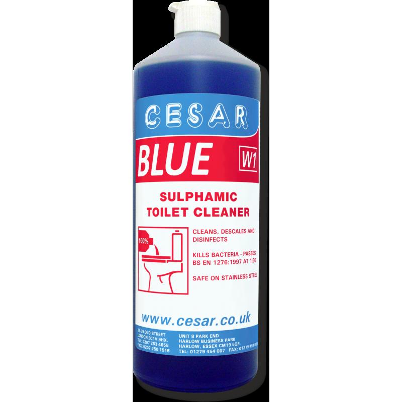 CESAR BLUE TOILET DESCALER W1 1LT