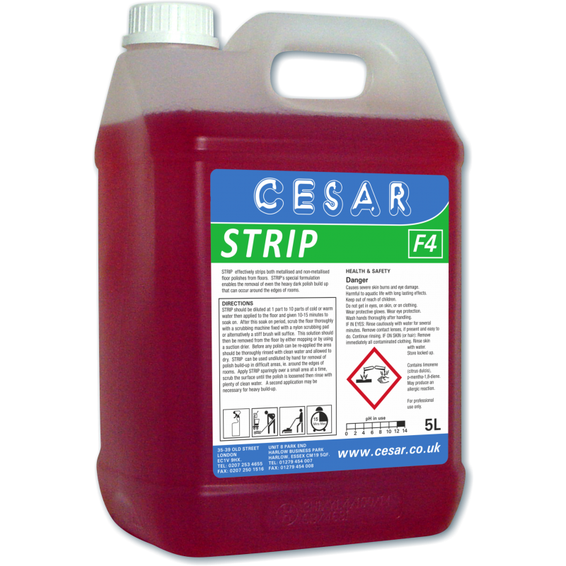 CESAR FLOOR STRIP 5LT