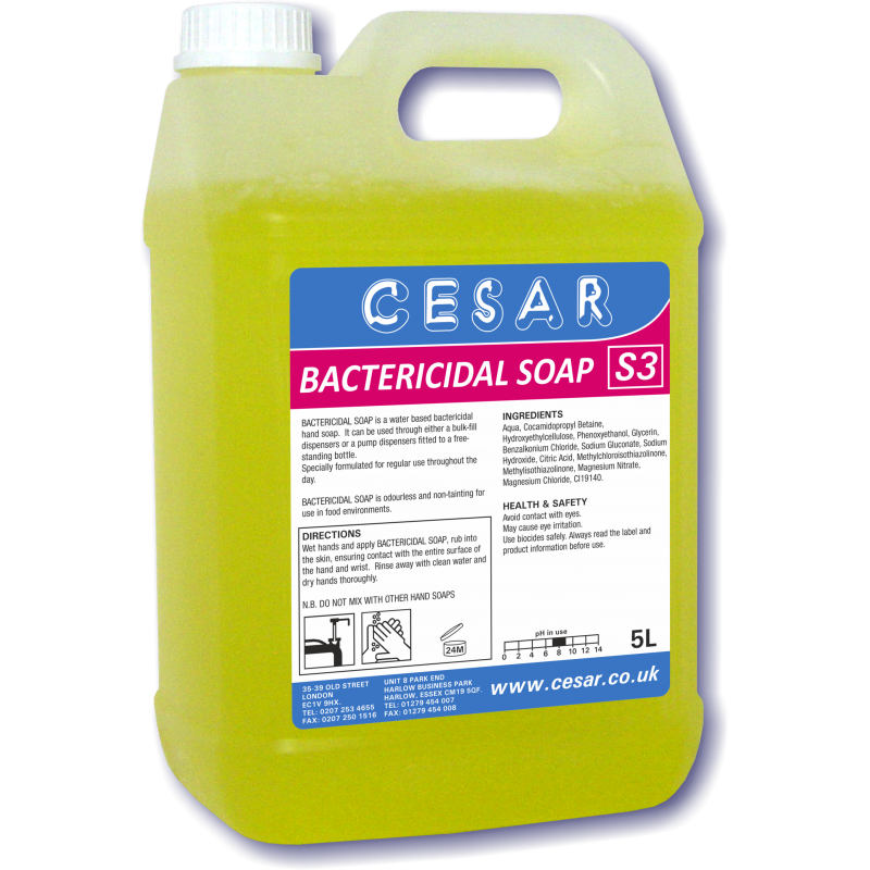 CESAR BACTERICIDAL SOAP 5LT S3