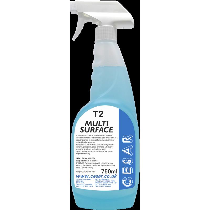 CESAR MULTI SURFACE CLEANER T2 750ML